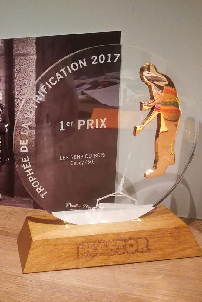 Trophée Plastor de la Vitrification