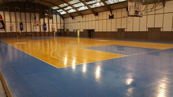 Rénovation du parquet de la salle de basket d'Armentières